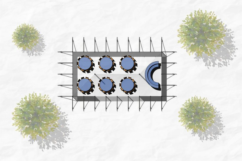 6m x 12m layout