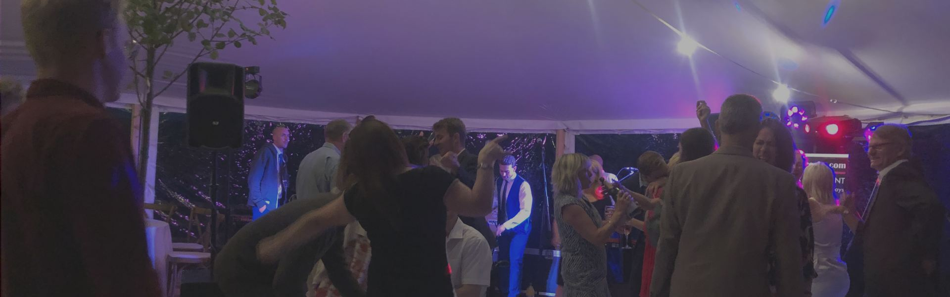 night time entertainment, furniture hire and marquee hire in yorkshire
